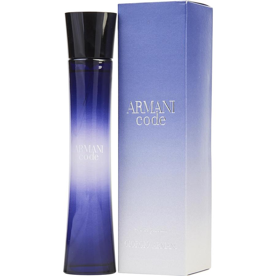 Giorgio Armani Code Pour Femme Eau De Perfume 75 Ml Kuwait Online