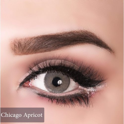 Anesthesia USA Chicago Apricot Contact Lenses, Solution Free