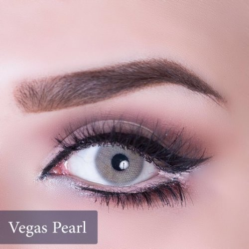 Anesthesia USA Vegas Pearl Contact Lenses, Solution Free