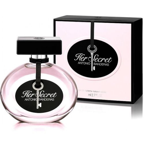 Antonio Banderas Her Secret Eau de Toilette 80 ml for Woman 8411061765128