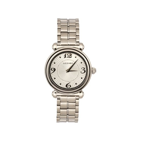 Azzaro Paper Doll Silver Metal Women's Watch, AZ2540.12SM