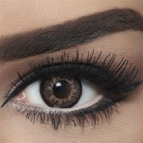 Bella Highlight, Color: Circle Brown, Power: PLANO, BHCIB, Solution Free