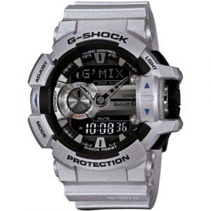 5a7520bcda7 Casio G-Shock G-Mix Bleutooth Smart Silver Watch - GBA-400-