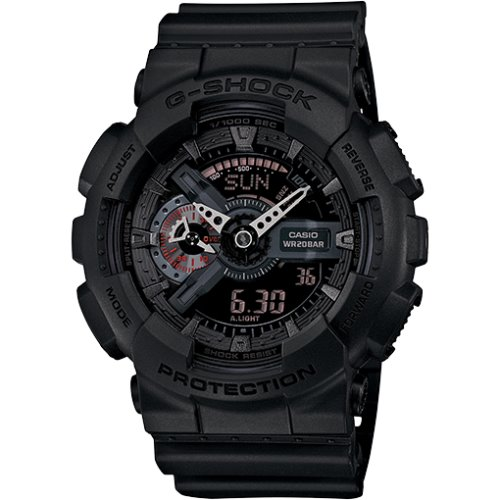 Casio G-Shock Standard Analog-Digital Black Watch - GA110MB-1A