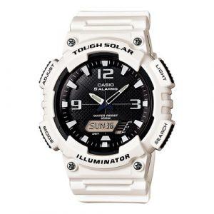 da2db0721bd Casio Standard Solar Powered Watch White - AQ-S810WC-7AV