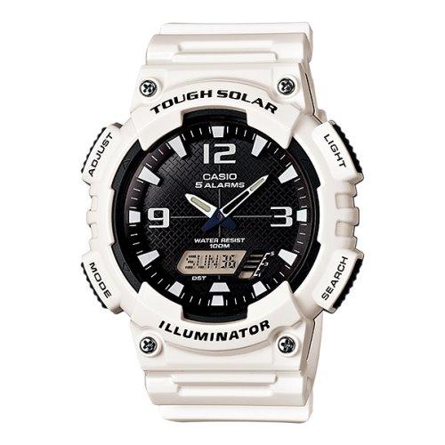 Casio Standard Solar Powered Watch White - AQ-S810WC-7AV