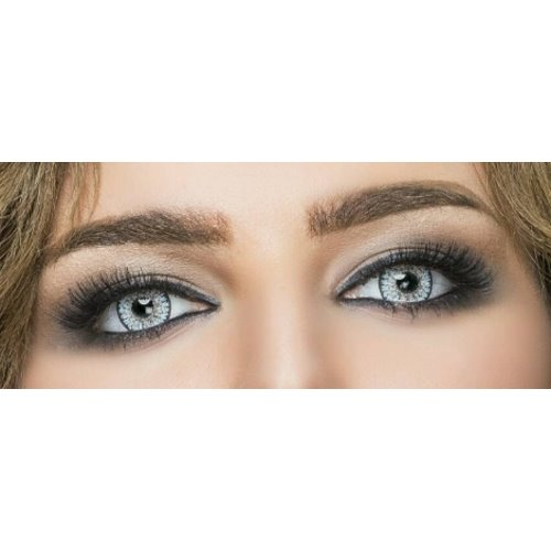 Cinderella Cute Gray Blue Contact Lenses