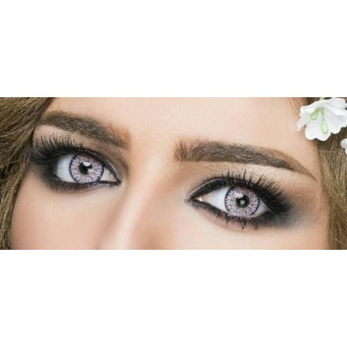 5a3bfd1b123 Cinderella Cute Gray Violet Contact Lenses Kuwait Online