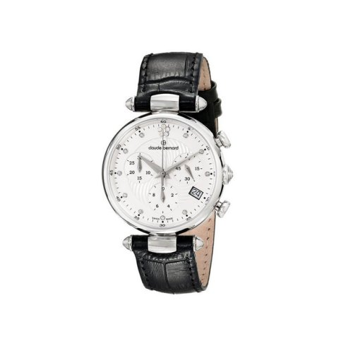 eec9a07f1ba2 Claude Bernard Swiss Women s Black Dress Chrnograph Watch