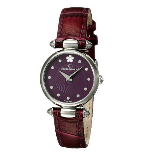 421cd8c7f2c9 Claude Bernard Swiss Women s Purple Dress Watch