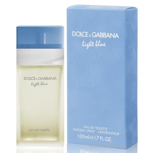 Dolce and Gabbana Light Blue Eau de Toilette 100 ml for Woman 737052074320