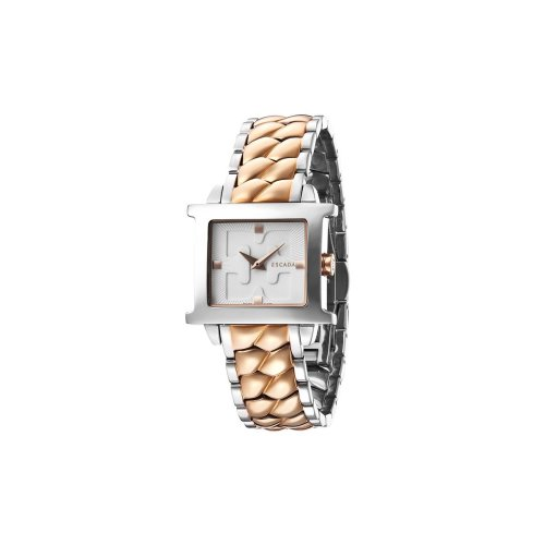 Escada Estelle II Rose Gold Plated Ion Stainless Steel, Escada Logo Dial Women's Watch, E2035085