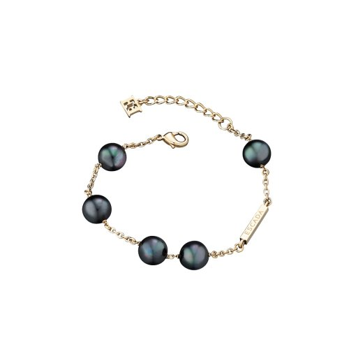 Escada Mysterious Pearls Gold Plated Shell Pearls Bracelet, E63076