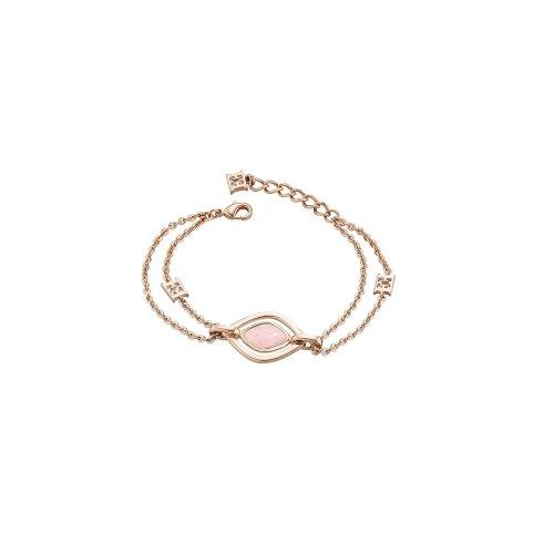 Escada Rose Breeze Rose Gold Plated SS, Rosequartz Stone Bracelet, E63099