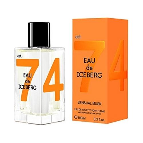Iceberg Sensual Musk Iceberg 100ml Eau de Toilette for Women 3605473774983