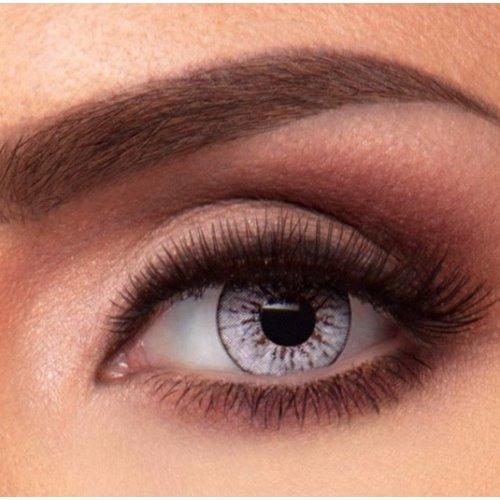 Jolie Ivory Gray Contact Lenses