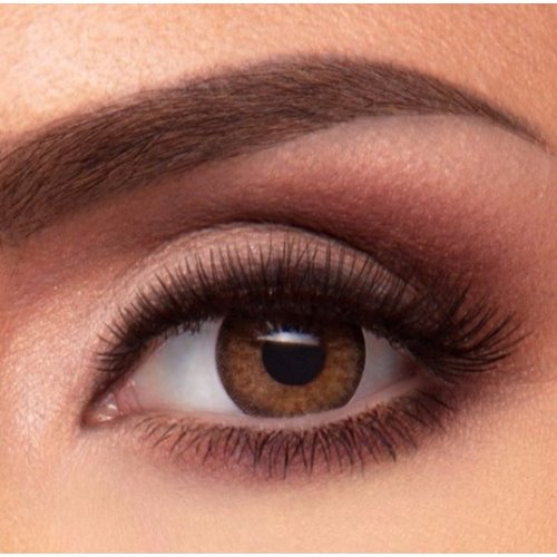Jolie Tan Brown Contact Lenses