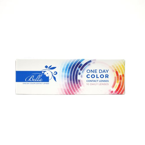 Bella Radiant Hazelnut One Day Color Contact Lenses 2