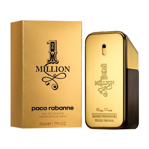 Paco Rabanne 1 Million (One Million) 50 EDT for Men 3349666007891