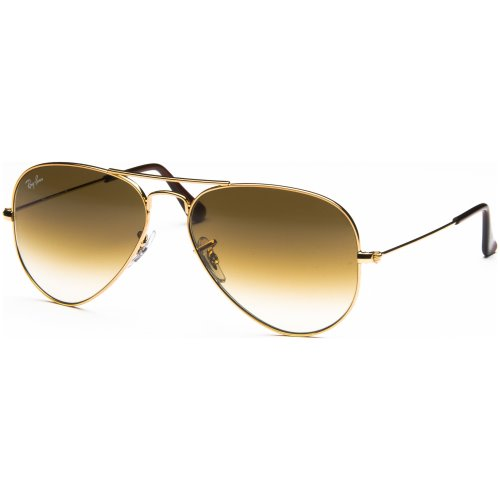 Ray Ban Aviator Gold Frame, Brown Lens, RB3025 001/51 Size58 Kuwait ...
