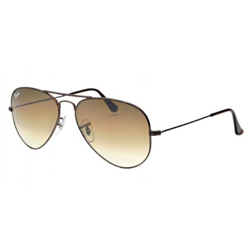 Ray Ban Aviator Brown Frame, Brown Lens, RB3025 014/51 Size 58