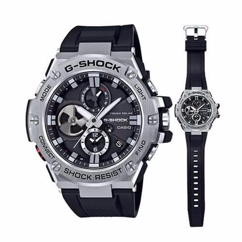 9ff7872f6d8 Casio G-Shock G-Steel with App Bluetooth Connection Watch -GST-B100 ...