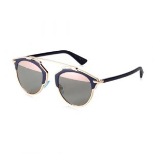 323811f041 Christian Dior SO REAL ROUND ROSE GOLD-BLUE