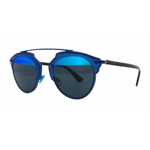 Christian Dior So Real Transparent Blue Dark Havana, Blue Mirror , SO REAL KMA8T 48