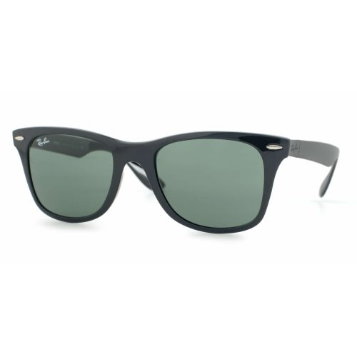 Ray Ban Liteforce Black, Green Lenses Polarized, RB4195 601-S-9A