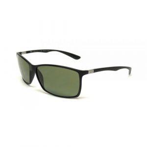 Ray Ban Liteforce Matte Black, Green Lenses, RB4179 601-S-9A