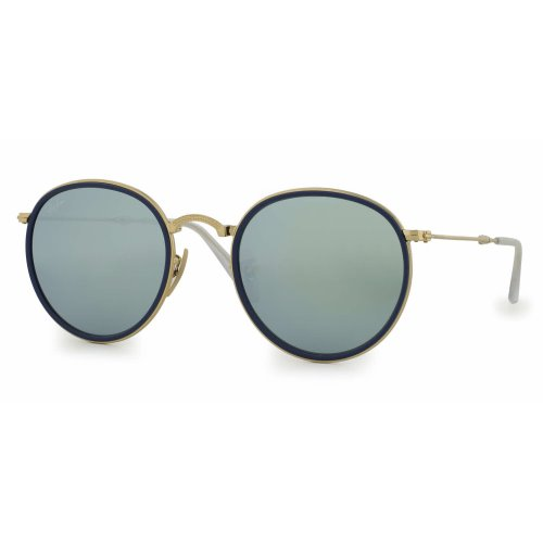 99a367688503 Ray Ban Round Folding, Silver Flash Lenses, 3517 001-72m Kuwait ...