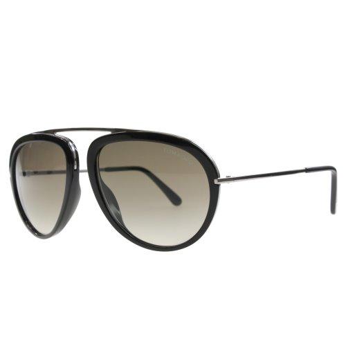 a9b46129a4e6b Tom Ford Stacy Aviator Design Metal Bridgless Frame Sunglasses ...