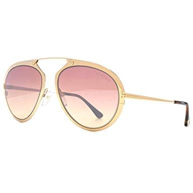 a2b862960d0 Tom Ford Dashel Aviator Design Metal Bridgless Frame Sunglasses For ...