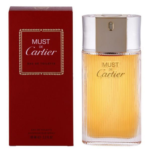 Cartier Must de Cartier 100ml EDT for Women