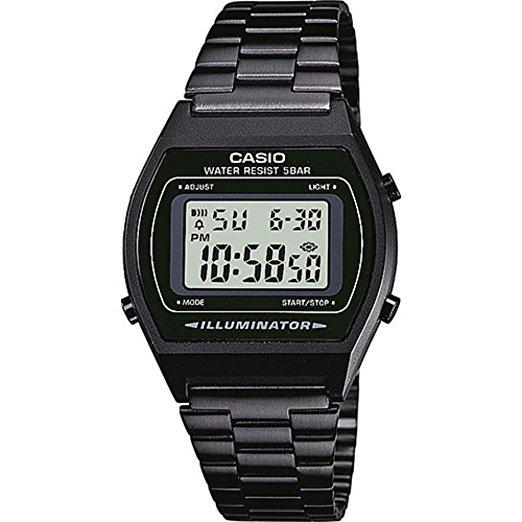 33b3564dfc6 Casio B640WB-1A Vintage Serie Black Digital Standard Watch Kuwait ...