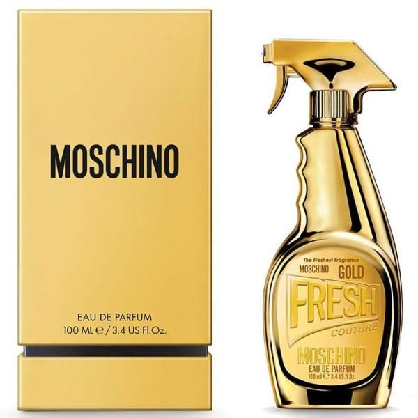 Moschino Fresh Gold 100ml Eau De Parfum Spray for Women