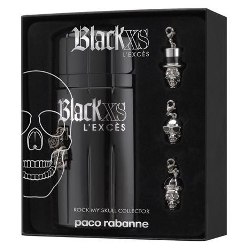 9c35f4500 Paco Rabanne Black XS Intense L'Exces 100ml EDT Gift Set for Men  3349668519651