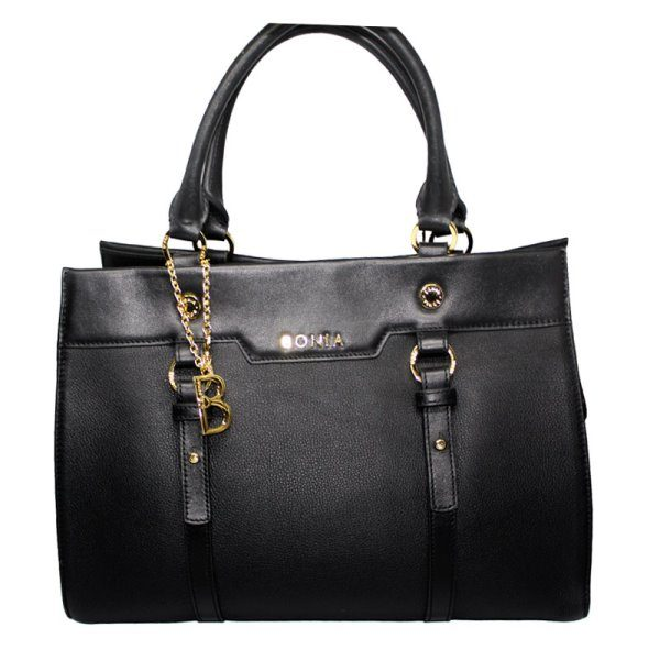 Bonia Black Hobo Bag 3030396018010