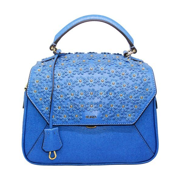 Bonia Blue Satchel Bag 4305931024016