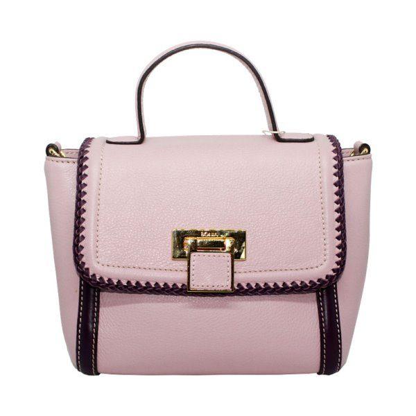 Bonia Light Pink Satchel Bag 4306402081019