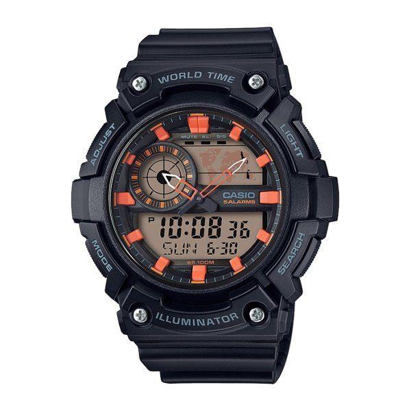 Casio Resin Band Watch AEQ-200W-1A2VDF