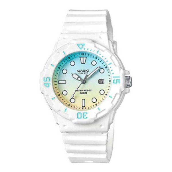 Casio White Watch LRW-200H-2E2VDR