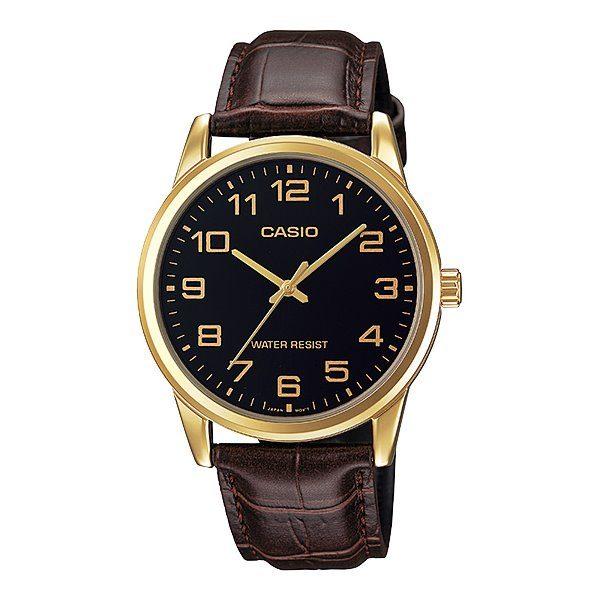 Casio Leather Watch MTP-V001GL-1BUDF