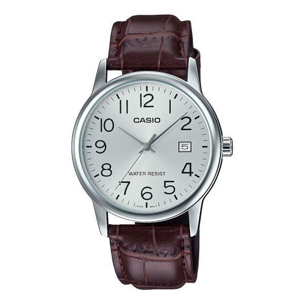 Casio Leather Watch MTP-V002L-7B2UDF