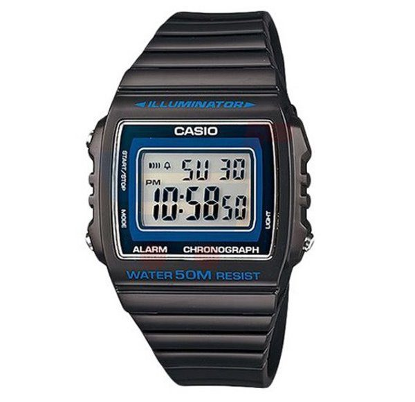 Casio Resin Band Watch W-215H-8AVDF