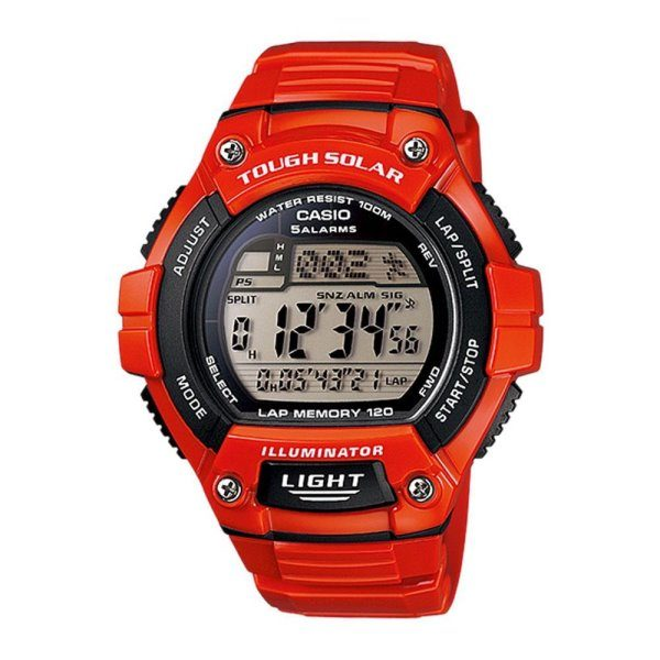 Casio Red Watch W-S220C-4AVDF