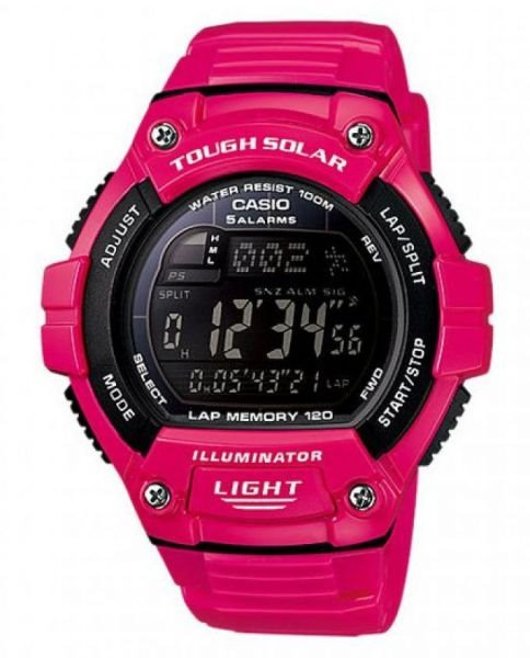 Casio Pink Watch W-S220C-4BVDF