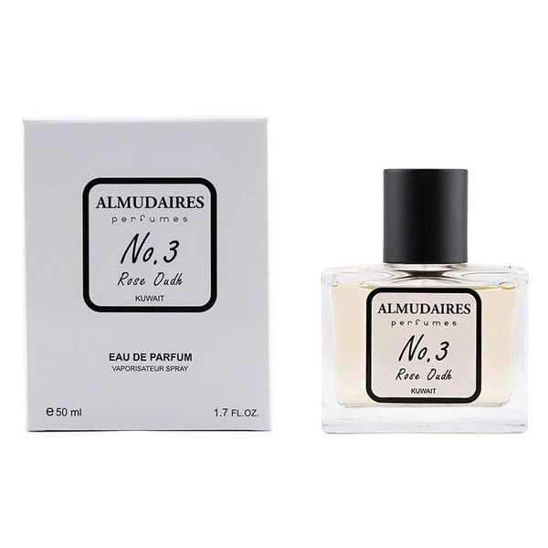 Almudaires Perfume No. 3 Rose Oud 50ML