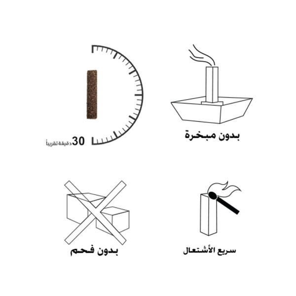 Refill Box – Indulgence Smart Oud – 10 Sticks 2